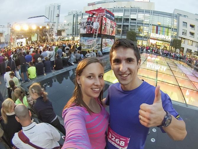 Bratislavský night run s lepším časom