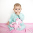 Sedem mesačné dievčatko