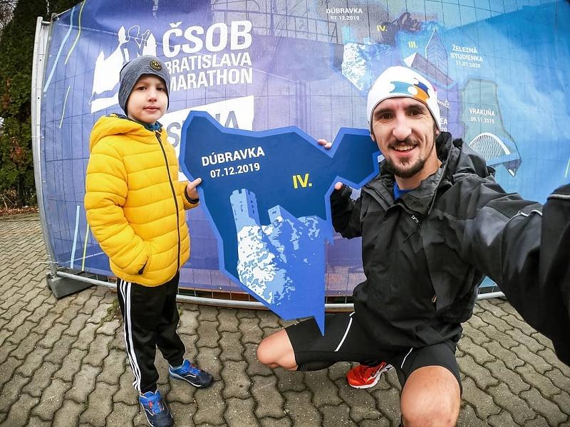 2. diel Zimnej série v Dúbravke a Kamilka na stupienku pre víťazov 3⃣🏅