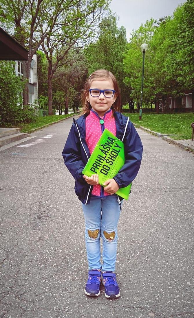 Kamilkina prihláška do školy