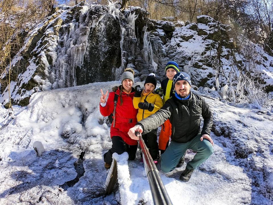 Expedícia vodopád Prepadlé