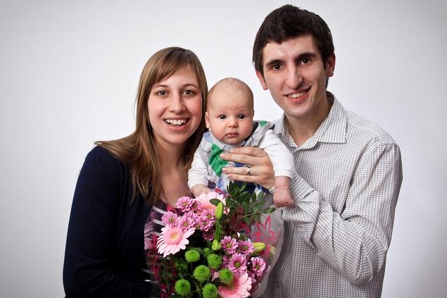 Gratulanti Damián a Marián prajú maminke všetko najlepšie